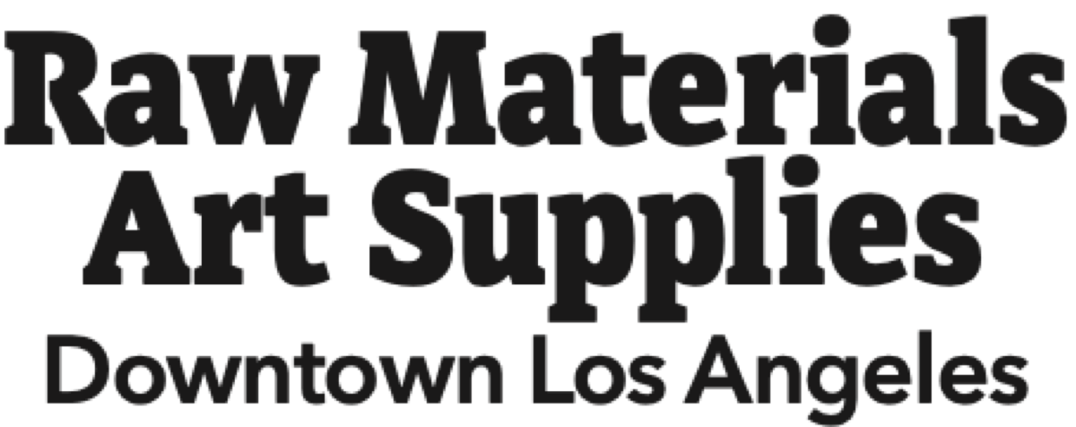Raw Materials Art Supplies